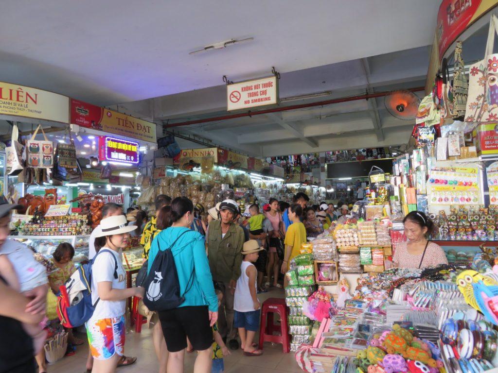 ハン市場の入り口
